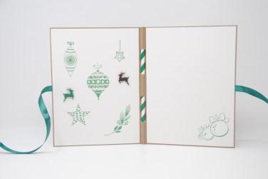 Weihnachtsmarkt Weihnachtskarte grün_2