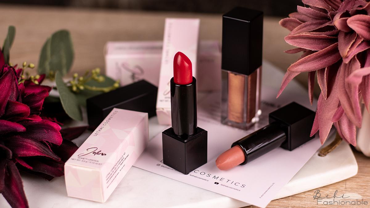 Lethal Cosmetics x Jolina Lippenprodukte Titelbild