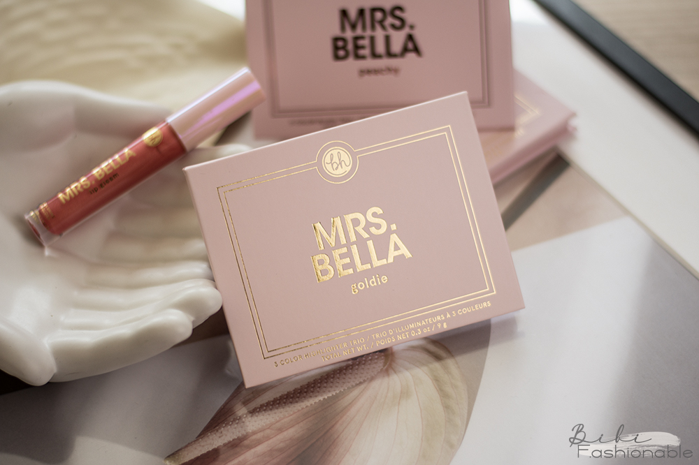 bh cosmetics Mrs. Bella Highlighter Palette goldie geschlossen