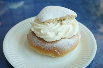 Semla, a Swedish dream of cream