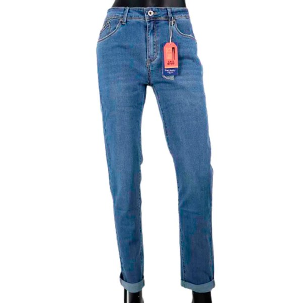 Norfy Jeans Fit Push Bleu