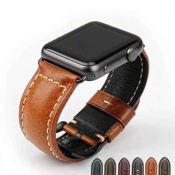 Bracelet pour Apple Watch Cuir