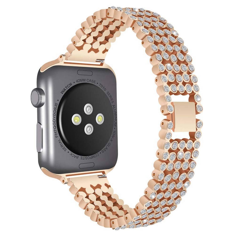 Bracelet Apple Watch Cristaux poux Femme