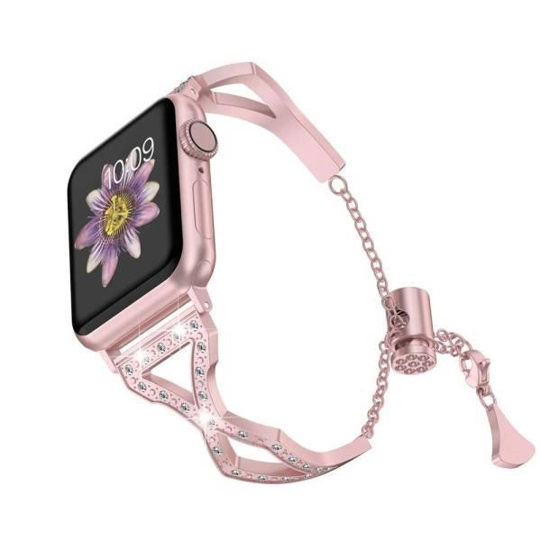 Bracelet Cristaux Apple Watch Femme