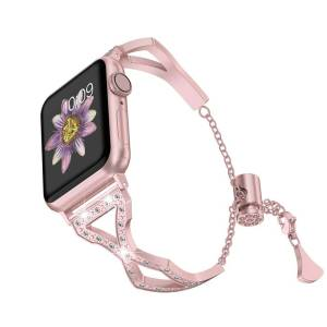 Bracelet Cristaux Apple Watch Femme