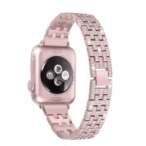Bracelet Cristaux Apple Watch Femme Luxury Diamond