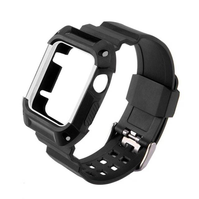 Bracelet Apple Watch série 4/3/2/1 avec Coque de Protection