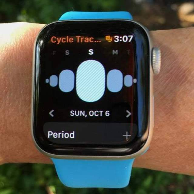 Period tracking Apple Watch