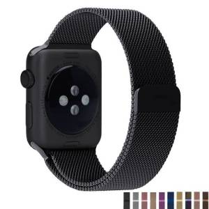 Bracelet Milanais Apple Watch Fermoir Magnétique