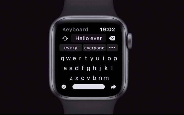 Shift Keyboard un clavier complet pour Apple Watch