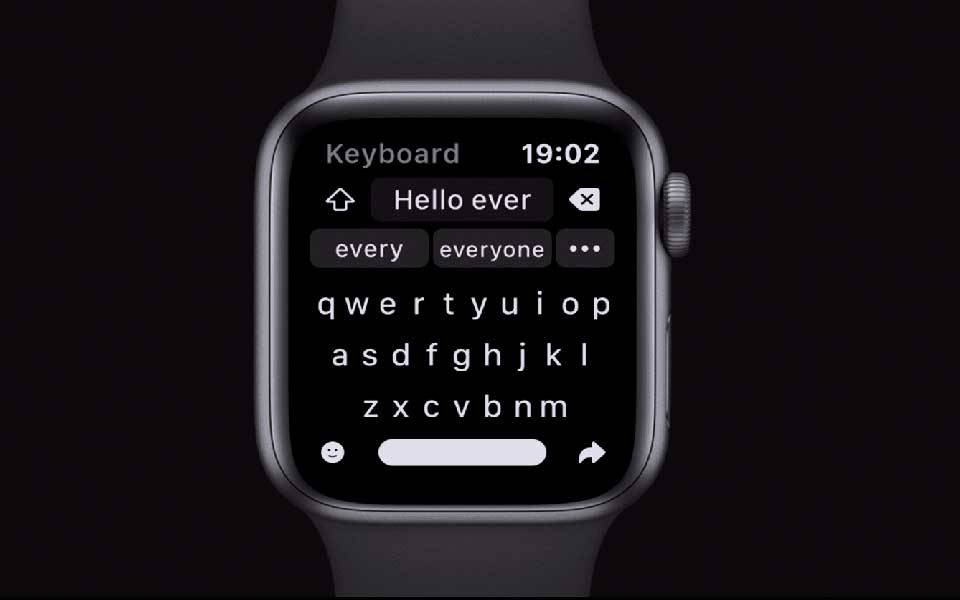 Shift Keyboard un clavier complet pour Apple Watch