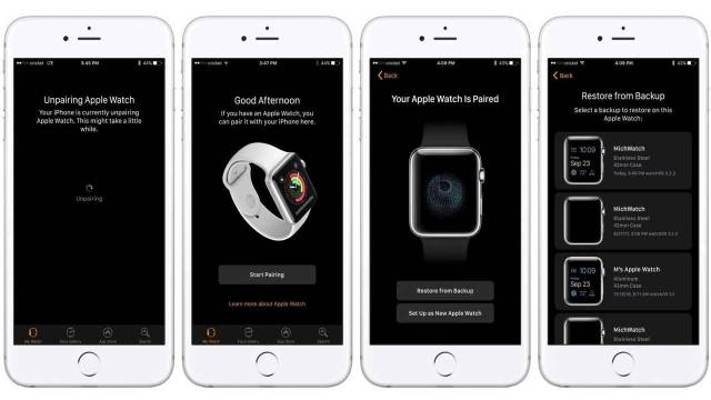 Comment sauvegarder son Apple Watch