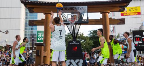 3×3(バスケ)の歴史は?ストリートボールから五輪正式種目へ!