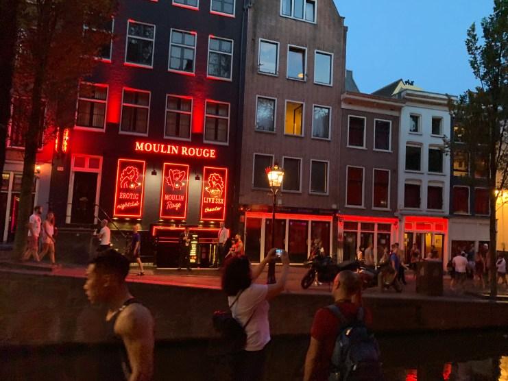 Museo de la prostitución – Amsterdam