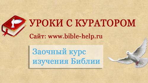 Основы веры - Библейские уроки с куратором
