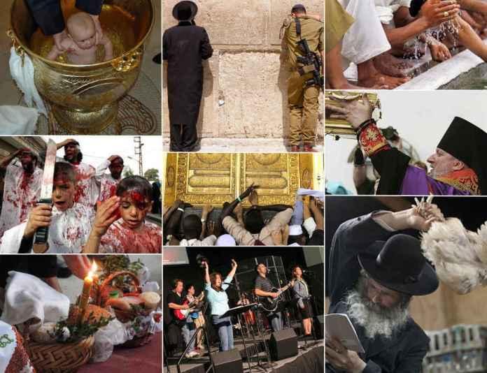 Последователи Бога в обрядах и нормах