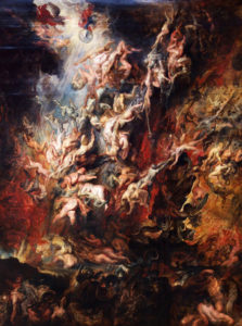 Satan's Fall by Rubens