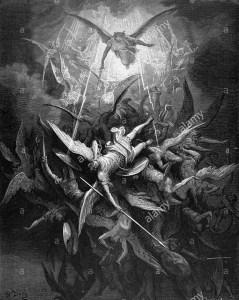 dore fall of satan