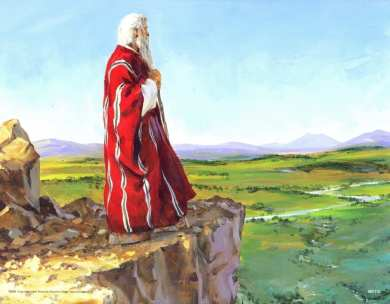 Moses Promised Land, why couldn't Moses enter the promise land