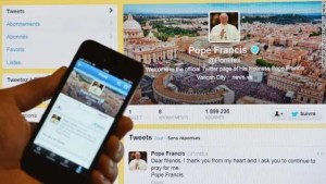 Pope Francis - Twitter