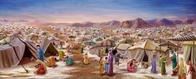 Israelites wilderness