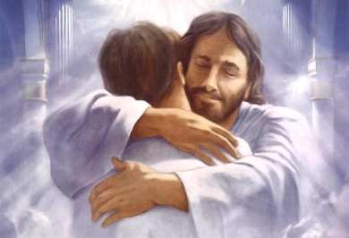 Jesus Hug