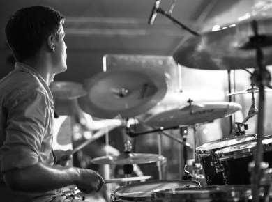 Drums in worship music
