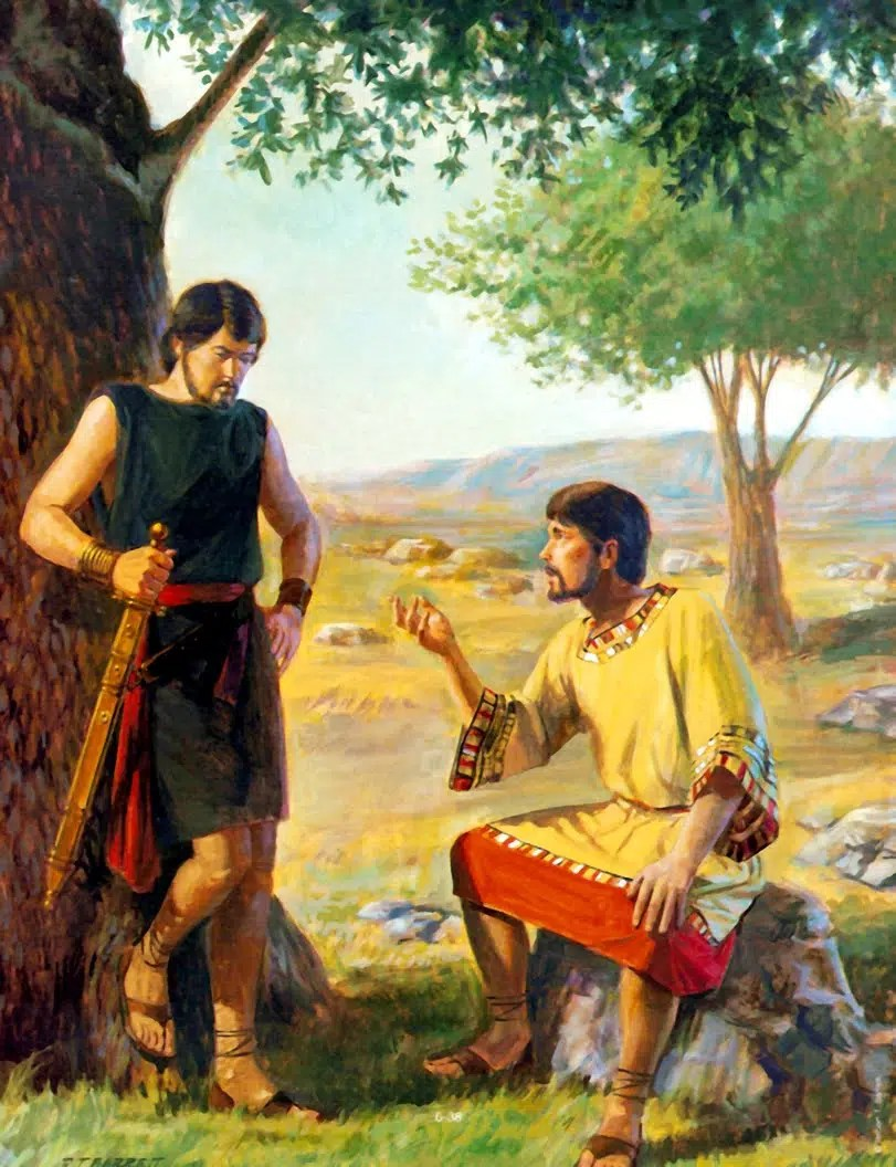 How was the friendship between David and Jonathan? - BibleAsk