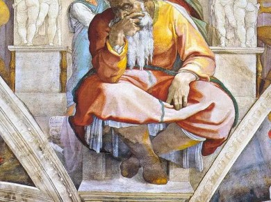 Jeremiah's Council - Despised and rejected by his brethren at home, the prophet Jeremiah directed his messages to the Israeli captives