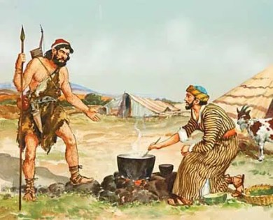 Esau and Jacob Birthright