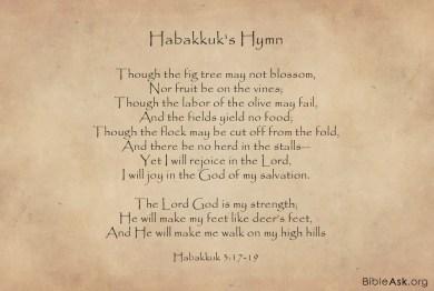 Habakkuk's-hymn