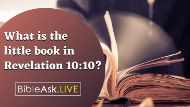 What is the little book in Revelation 10:10