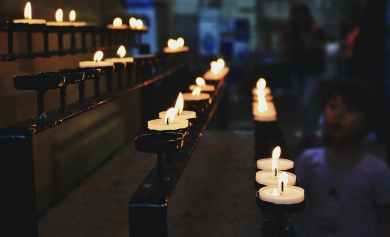 Is it right to light candles for the dead