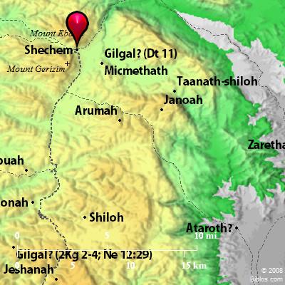 Shechem in Israel