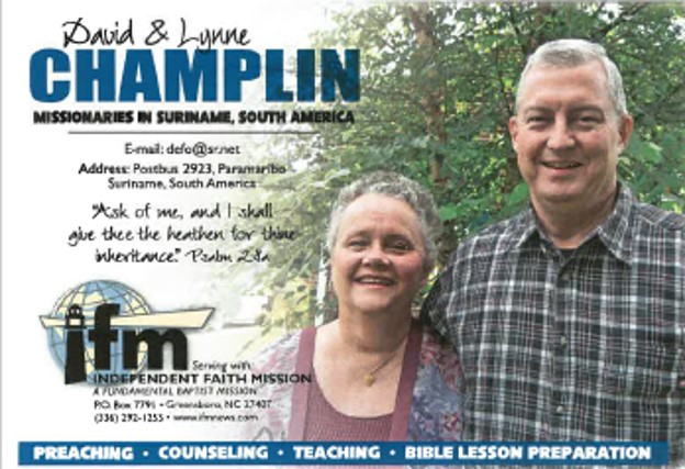 David & Lynne Champlin