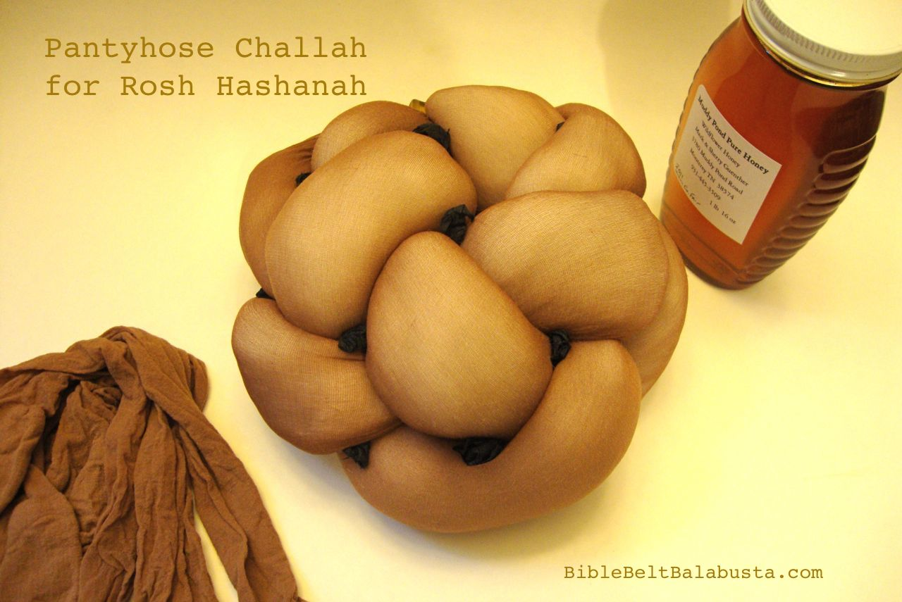 Rosh Hashanah Craft The Pantyhose Challah