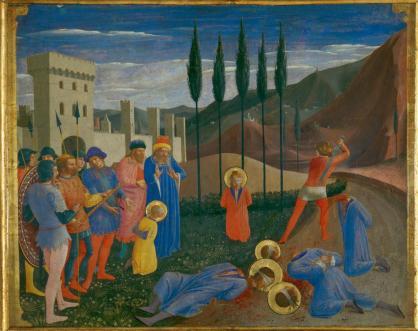 Martyrdom of Saints Cosmas and Damian