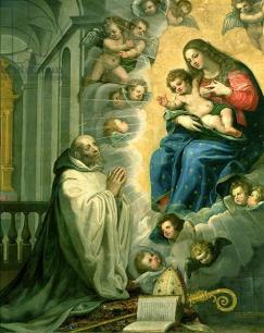 The Vision of St. Bernard, 1634