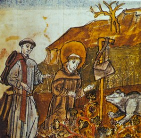 St. Gall, the Bear, and the Deacon Hiltibrod