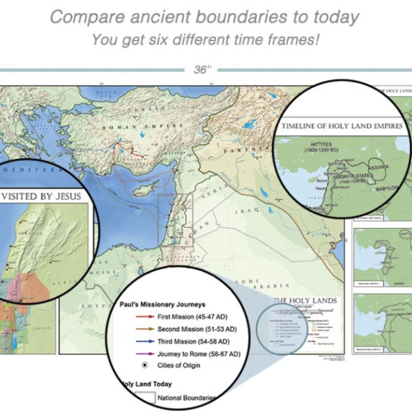 Amazing Bible and World History Timeline with Free Bonuses! - Bible