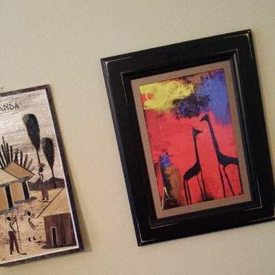 activist faith, environmentalism, recycling, art, frame