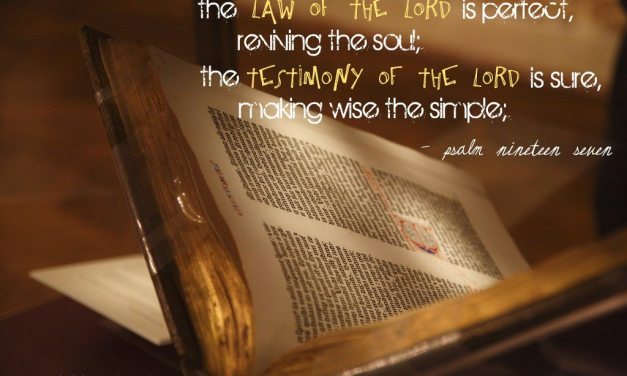 psalm 19:7-11 [the law]
