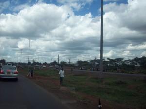 the road from nairobi to thika