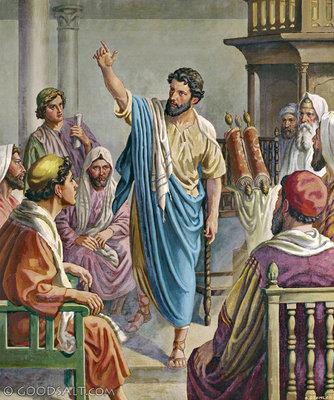 Bilderesultat for paul preaching