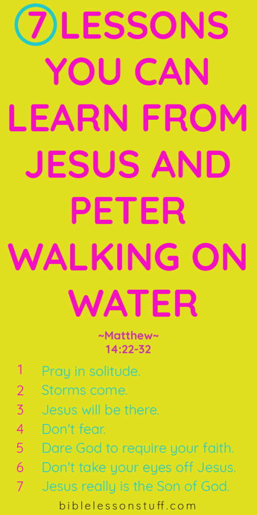 Object Lesson on Faith - Can you imagine walking on water