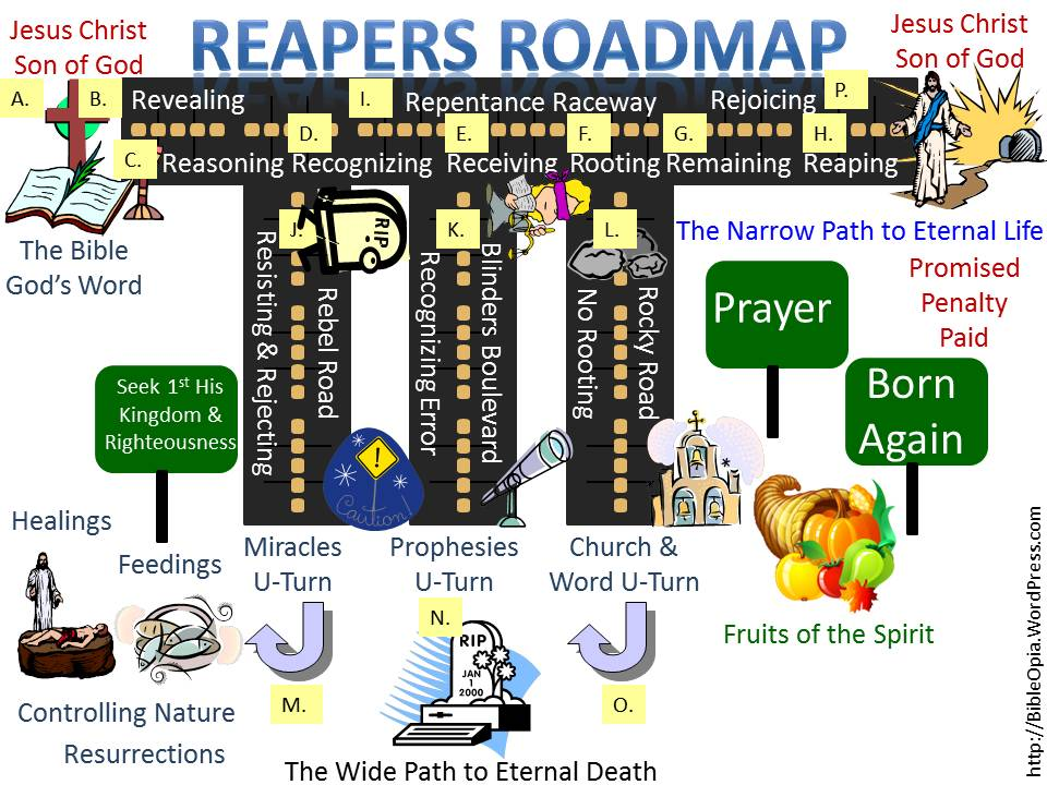 Reapers Roadmap: Revealing, Reasoning, Resisting, Rejecting, Recognizing, Receiving, Rooting, Repentance, Remaining, Reaping, Rejoicing (The 9 R's Roadmap) (2/3)