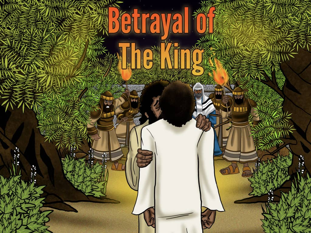 Bible Story Betrayal Of The King