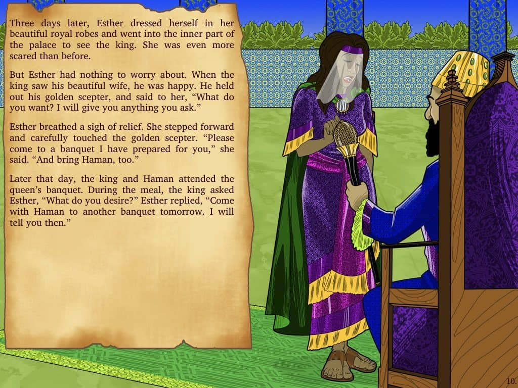 Bible Stories For Kids Esther The Chosen Bride Free