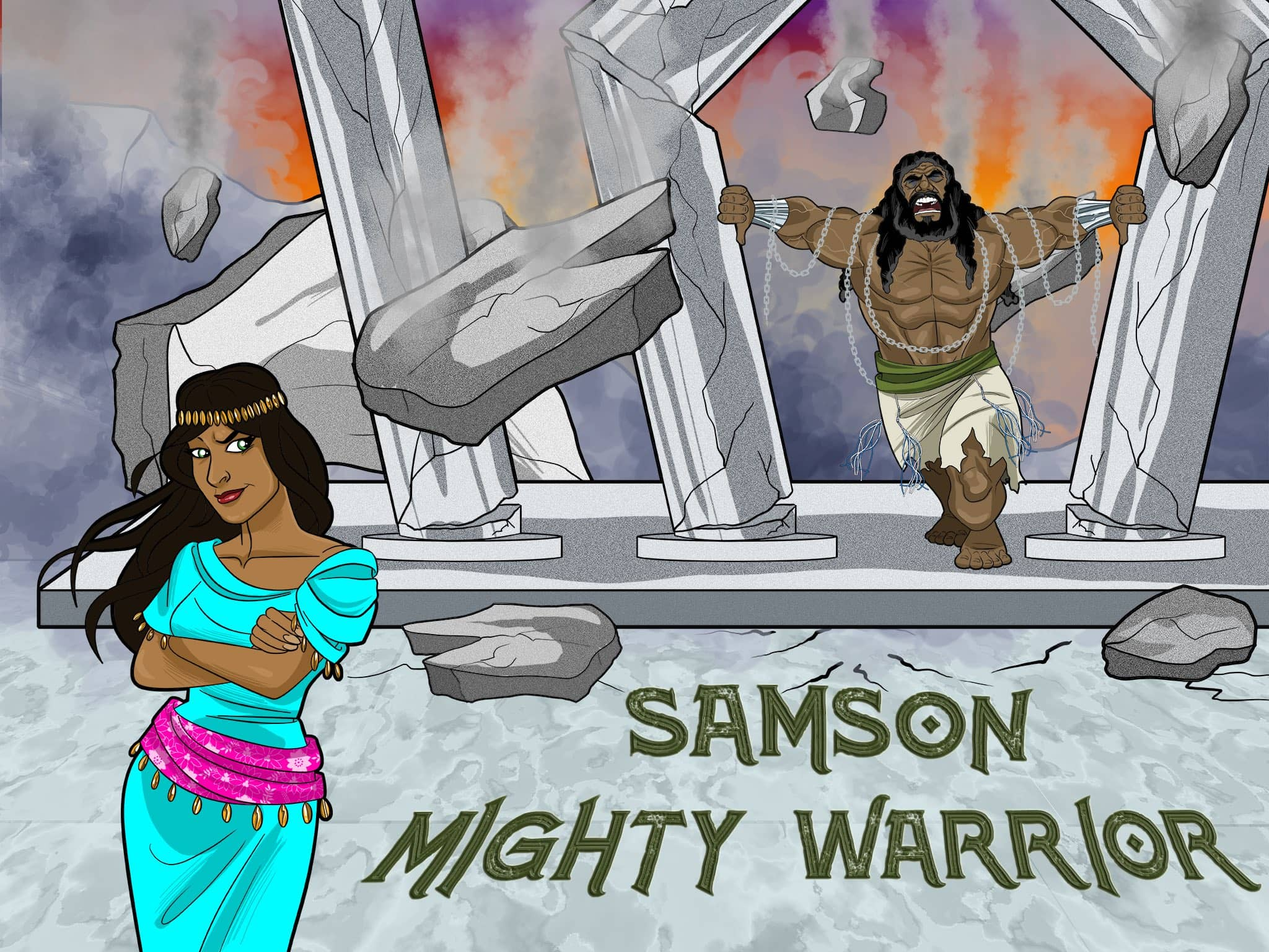 Samson Bible Story Amp Lesson Plans Free Download