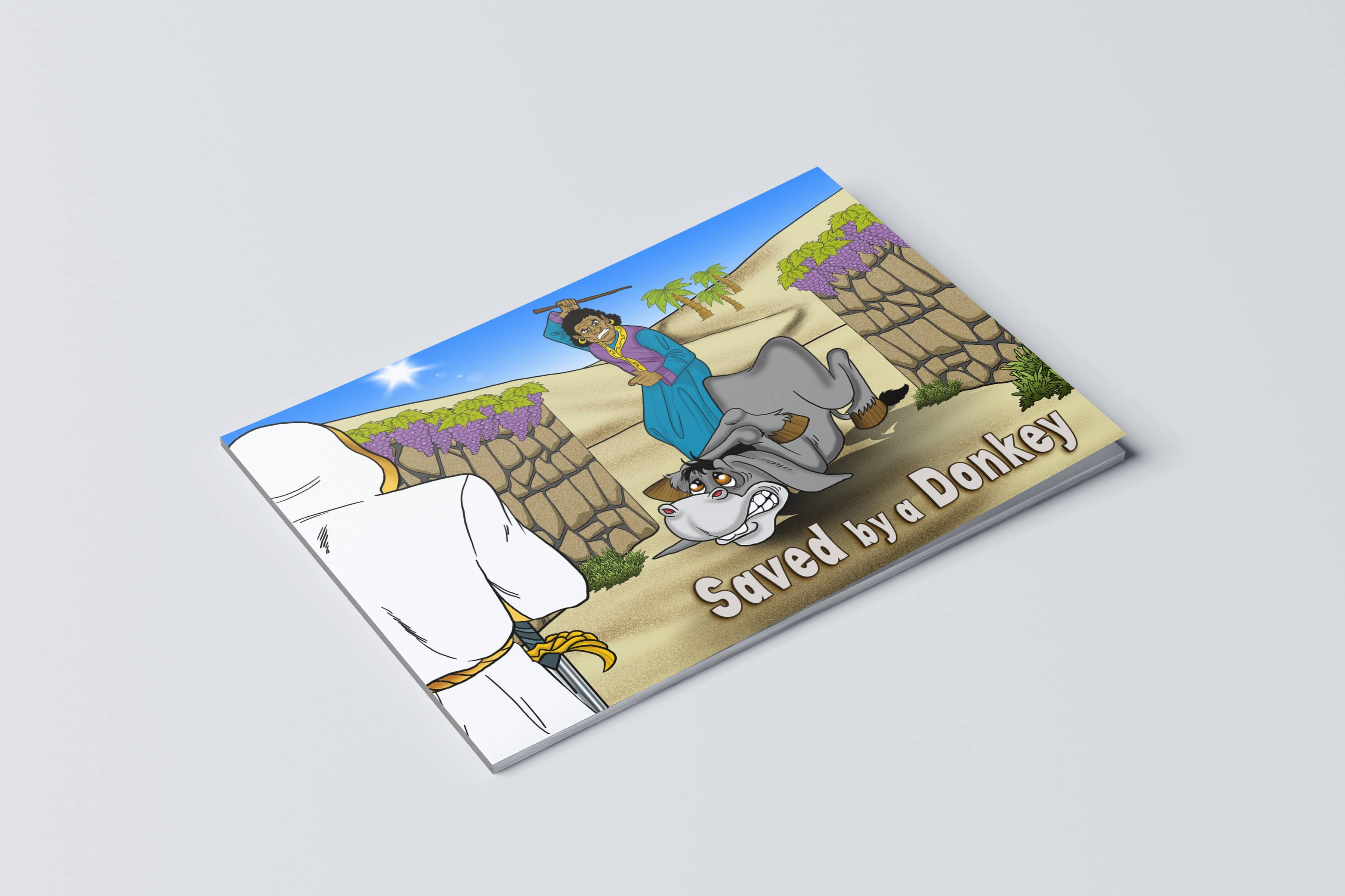Paperback Book Saved By A Donkey Bible Pathway Adventures